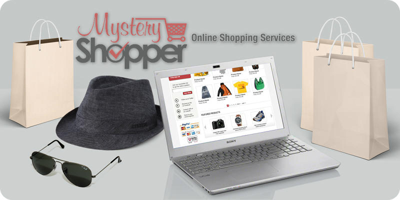 Website mystery shopping by an experience mystery shopper